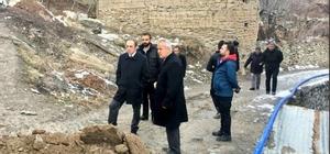 Başkan Epcim, su depolarını inceledi