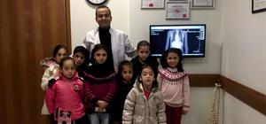 Skolyoz hastaları doktorları ile buluştu