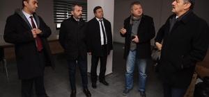 Başkan Akın, yeni proje alanı incelendi