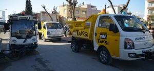 Mersin'de 'Çöp Taksi' uygulaması