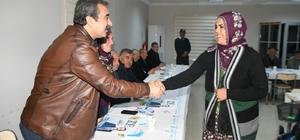 Başkan Çetin, sabah buluşmalarında 3. tura başladı