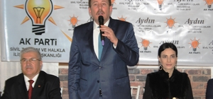 K Parti, Aydın'da sivil toplum kuruluşu temsilcileriyle buluştu