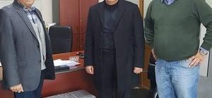 Başkan Yalçın, ilçede faaliyet gösteren bir fabrikayı ziyaret etti