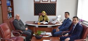 İl Milli Eğitim Müdürü Durmuş'un Pazaryeri temasları