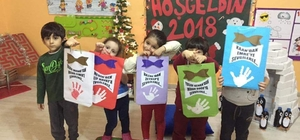 Anaokulu öğrencileri kumbaralarında topladıkları parayı LÖSEV'e bağışladı