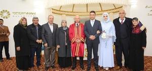 Kocasinan Belediyesi 2017 yılında 3 bin çiftin nikahını kıydı
