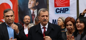 "Adil Aktay: ""CHP Mersin İl Başkanlığı halkın evi olacak"""