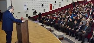 Vali Su, Kredi ve Yurtlar Kurumu'nun 'İletişim Kampı' etkinliğine katıldı