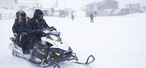 Uludağ'da kar kalınlığı 94 santimetreye ulaştı