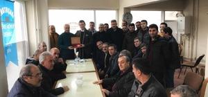 AK Parti Odunpazarı İlçe Başkanı Doğandan dernek ziyareti