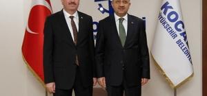 Başbakan Yardımcısı Işık'tan Genel Sekreter Bayram'a hayırlı olsun ziyareti