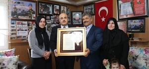 Düzce'de şehit ailesine Devlet Övünç Madalyası verildi
