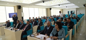 Büyükşehir belediye meclisi 2018'in ilk oturumu gerçekleştirdi