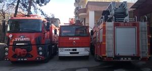 Kahta'da itfaiye ekipleri 1 yılda 322 olaya müdahale etti