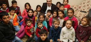 """Başkan Çelikcan: """"Vatandaşlarımızın acısına da sevincine de ortak oluyoruz"""""""