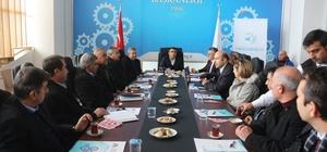 """Van'da """"Üniversite-Sanayi İşbirliği"""" toplantısı"""