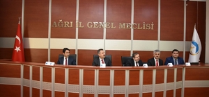 Ağrı'da yılın ilk Koordinasyon Kurulu Toplantısı yapıldı