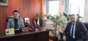 Giresun Emniyet Müdürü Aktaş'dan Baro Başkanına ziyaret
