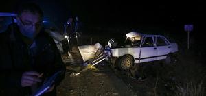Başkentte trafik kazası: 2 ölü, 4 yaralı