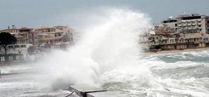 ge Denizi'nde fırtına bekleniyor