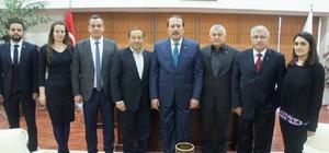 K Parti'li Harun Karacan'dan Aydın Ticaret Borsası'na ziyaret