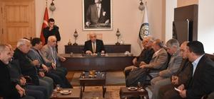 rtaca'dan Başkan Gürün'e tam kadro ziyaret