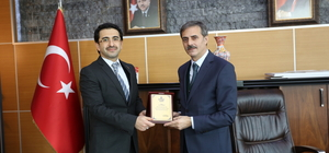 Ensar Vakfı'ndan Başkan Alemdar'a ziyaret