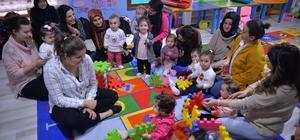Pıtırcık Oyun Evinde ''Anne ve Bebek Etkinlikleri''