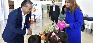 Başkan Uysal, anaokulu öğrencilerini ağırladı