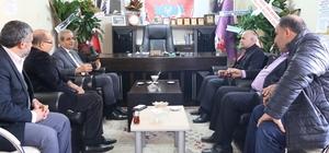 Başkan Demirkol'dan seçimleri tamamlanan esnaf odalarına ziyaret