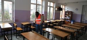Melikgazi Belediyesi yarıyıl tatilinde okulları ilaçlayacak