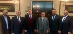 Milletvekili Vural Kavuncu'dan tebrik ziyareti