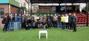 1. Amatör Küme'nin şampiyonları kupalarını aldı