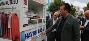 Atakum'da giysi toplama kutuları 30 noktada