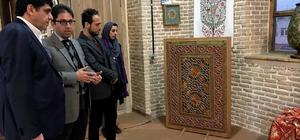 Rektör Alma, İran İslami Sanatlar Üniversitesini ziyaret etti