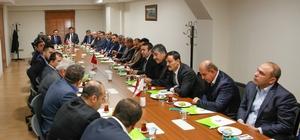 Ak Parti'den Belediye Başkanı Fadıloğlu'na ziyaret
