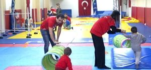 'Özel' sporcular, ODÜ'de yetişiyor