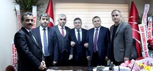 """GMİS yönetiminden Başoğlu'na """"hayırlı olsun"""" ziyareti"""