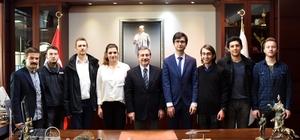 CHP Tepebaşı Gençlik Kolları'ndan Başkan Ataç'a ziyaret