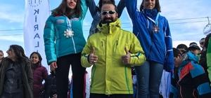 Ağrı'da yılın ilk madalyaları kayak branşından geldi