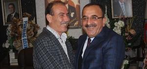 6. Bölge Birlik Başkanı Ahmet Tural'dan Muammer Ünal'a hayırlı olsun ziyareti