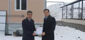 İl Gıda Tarım ve Hayvancılık Müdürü Kenan Engin, Tutak'ta incelemelerde bulundu