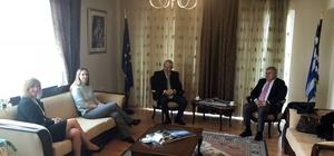 ETSO'DAN Yunanistan Başkonsolosluğuna ziyaret