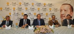 AK Parti Genel Başkan Yardımcısı Karacan Uşak'ta STK üyeleri ile bir araya geldi