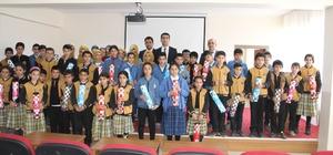 Çemişgezek'te öğrencilere satranç takımı hediye edildi