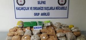 Silifke'de uyuşturucu ve kaçakçılık operasyonları