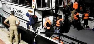 Çeşme'de 3 operasyonda 129 göçmen yakalandı