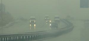 Şanlıurfa'da sis yaşamı olumsuz etkiledi