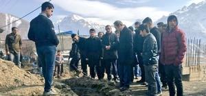 Başkan Vekili Epcim, çalışmaları denetledi