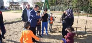 Başkan Karabacak ilçe genelinde incelemelerde bulundu